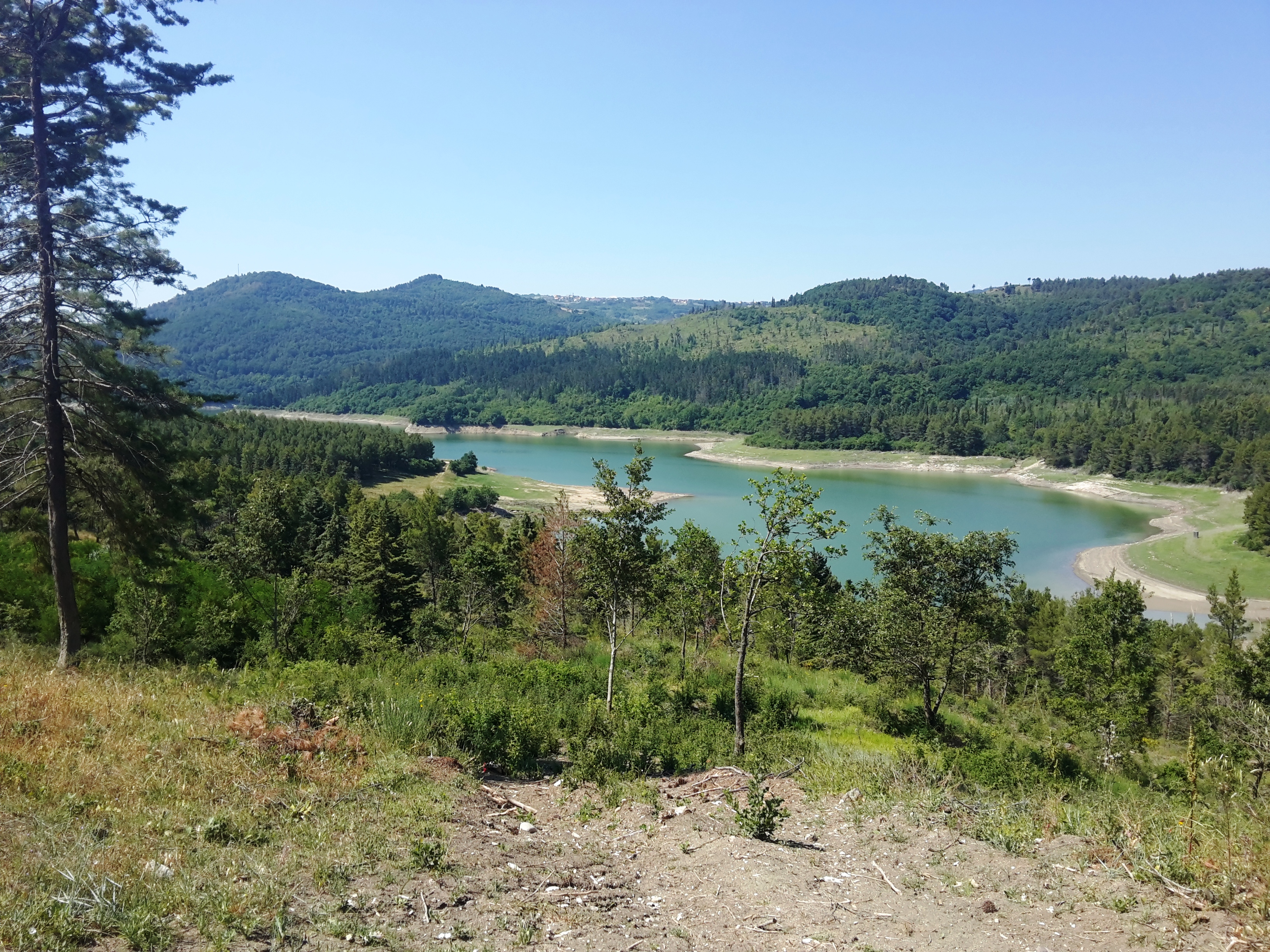 Lago San Pietro-Aquilaverde