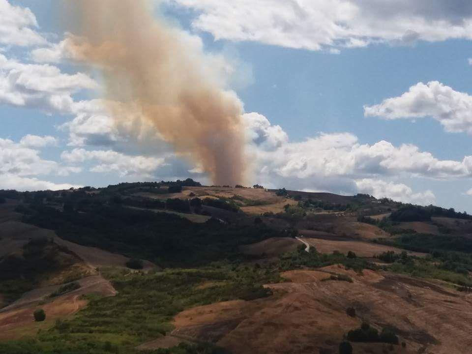 Incendi in Abruzzo