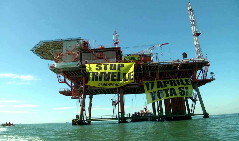 Referendum sulle trivelle, Greenpeace