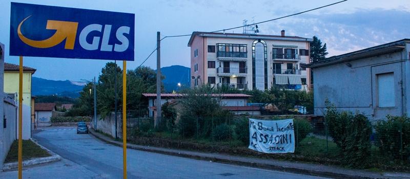 Protesta GLS di Avellino, Pellegrino Tarantino