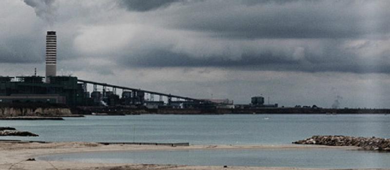 La centrale a carbone Enel di Cerano, Brindisi