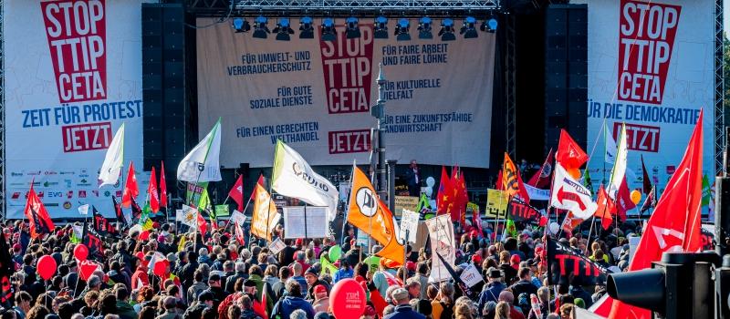 L'inverno del libero scambio tra Ttip e Ceta