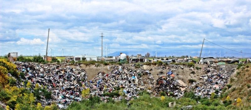 """""""Ghetto dei bulgari"""", sito in località Pescia, tra Borgo Mezzanone e Tressanti"""