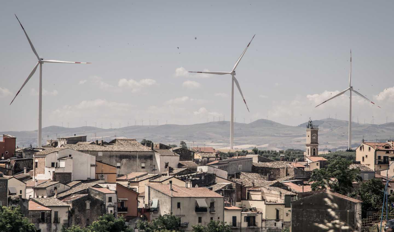 Pale eoliche nel Vulture, Basilicata
