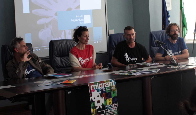 Presentazione del Migrant Film Festival RadioLaser