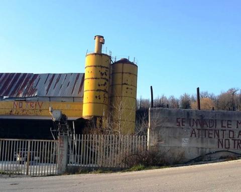 Il silos giallo di Gesualdo