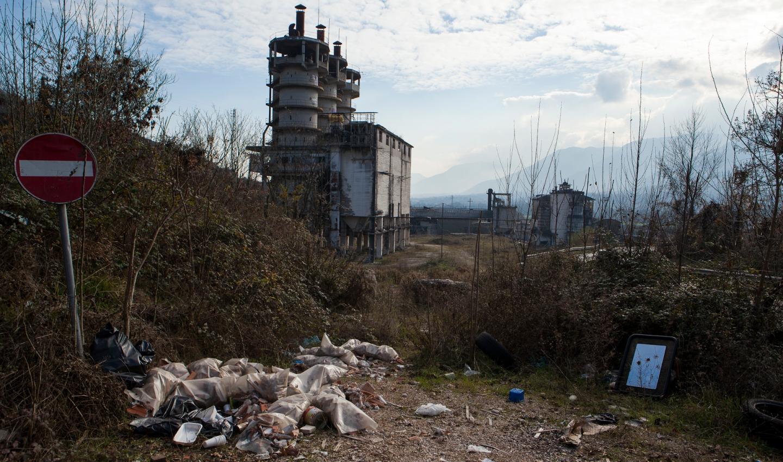 Area industriale di Ceccano, valle del Sacco