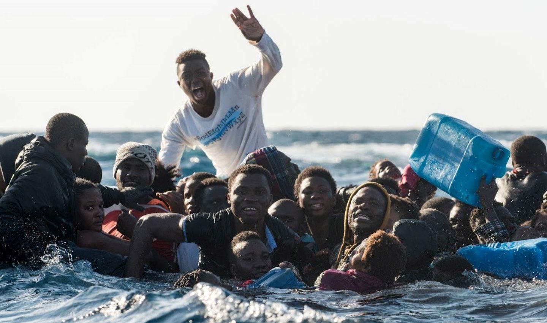 Migranti nel Mediterraneo, Laurin Schmid, Sos Méditerranée