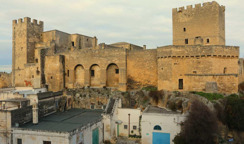 Il castello di Grottaglie