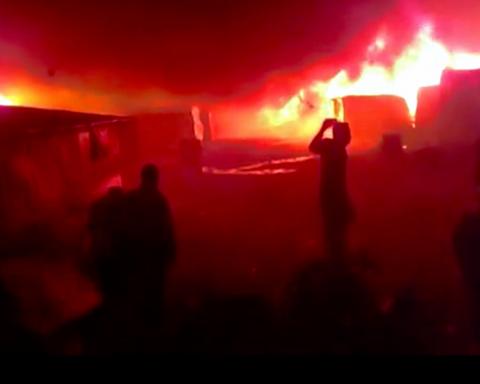Incendio ghetto di Rosarno, San Ferdinando