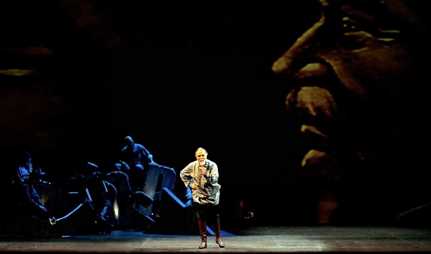 Moni Ovadia in La bella utopia, 2007