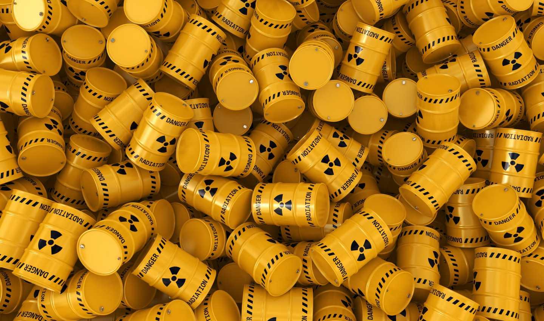 Bidoni, scorie e deposito nucleare