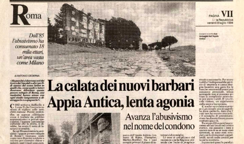 Progetto Appia Regina Viarum: salvaguardare paesaggio e monumenti