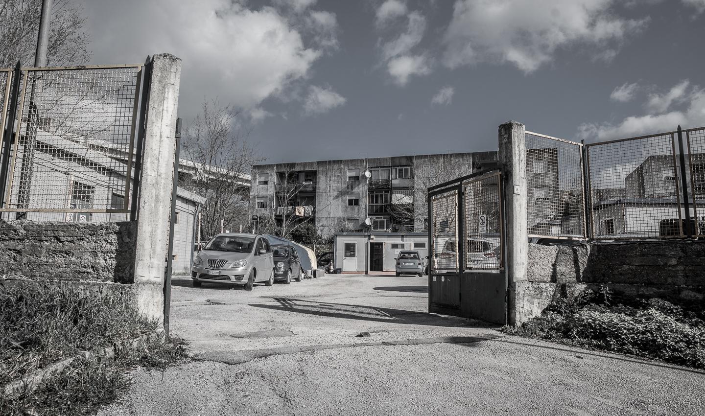 Prefabbricati di rione Valle, ad Avellino