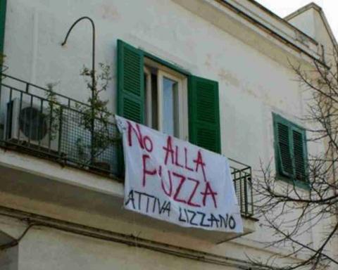 No alle discariche di Lizzano