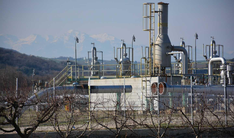 Stoccaggio gas Fiume Treste