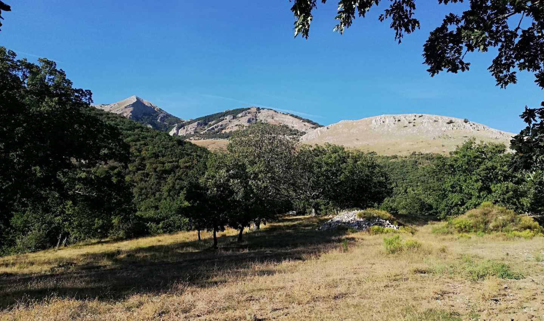 Località Civita, area dove Eni prevede di perforare nuovi pozzi di petrolio in Basilicata