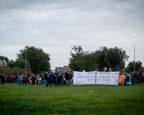Manifestazione #bastaimpianti Pignataro Maggiore, 28 ottobre 2018