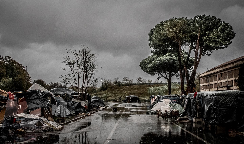 Dal campo informale Baobab Experience di Roma Tiburtina