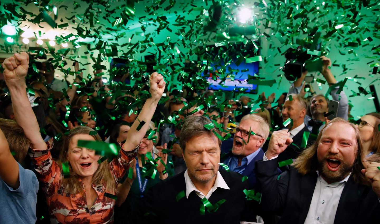 Baviera, i Verdi avanzano in Europa