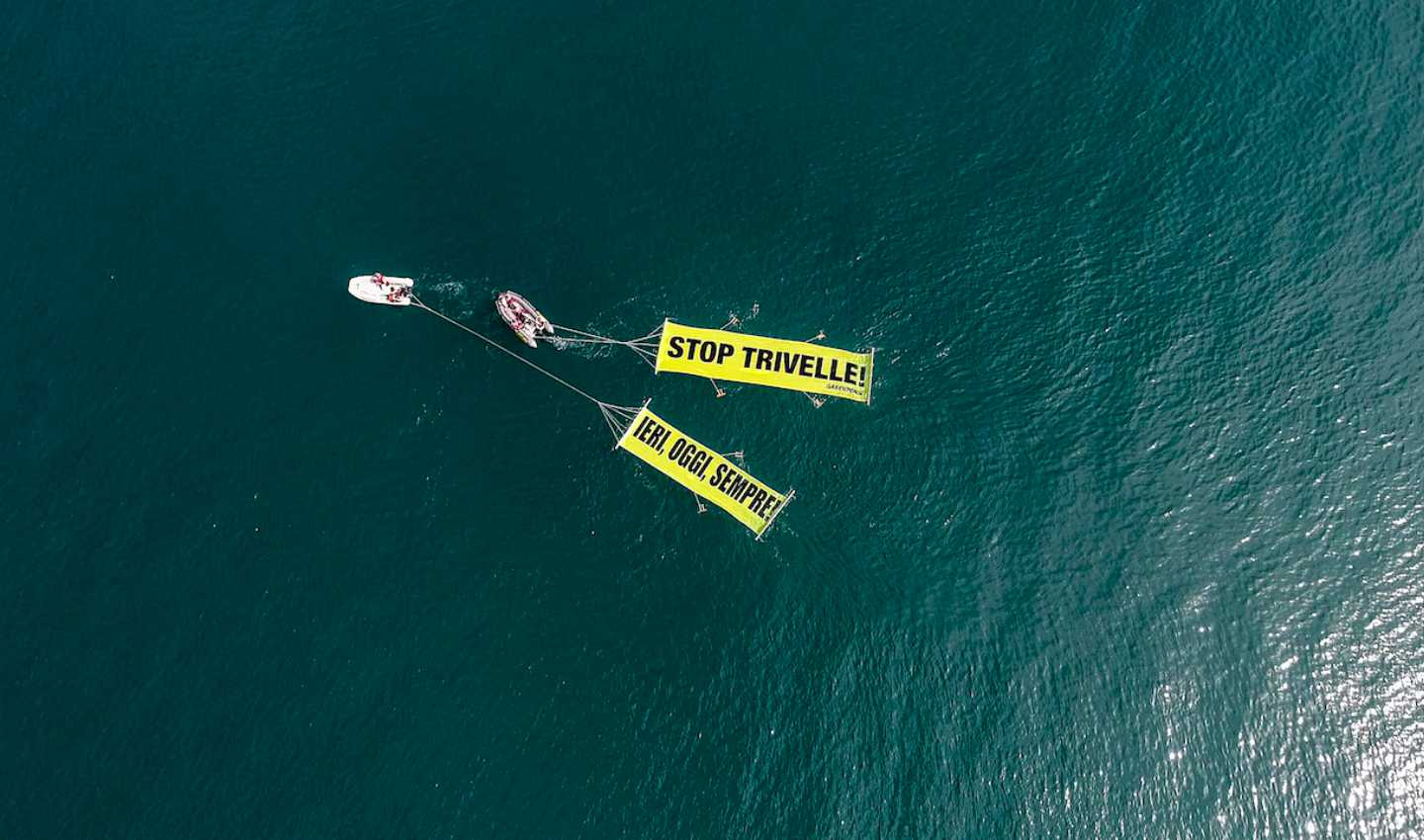 Campagna No Trivelle Greenpeace