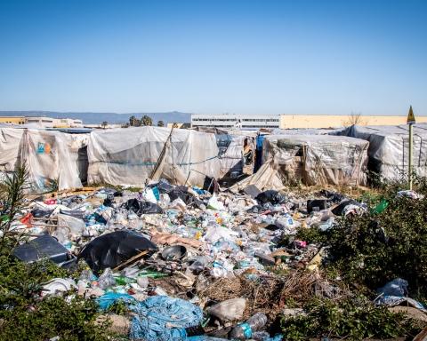 Lo sgombero della baraccopoli di San Ferdinando, Reggio Calabria (Pellegrino Tarantino)
