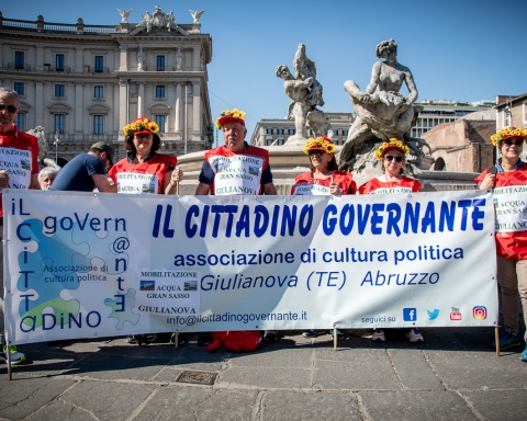 23 Marzo i movimenti italiani contro le grandi opere a Roma, Pellegrino Tarantino