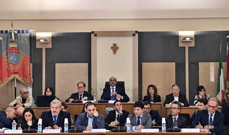Consiglio monotematico di lunedì 25 marzo 2019 a Taranto