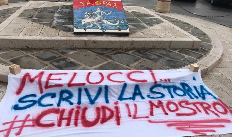Melucci scrivi la storia, chiudi il mostro a Taranto