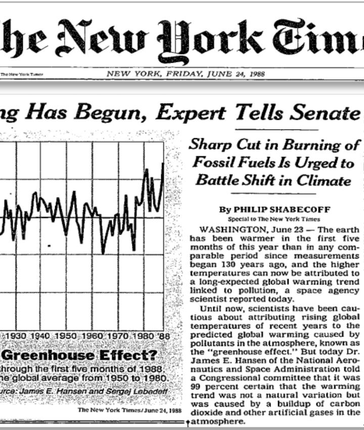 La post-verità ai tempi del Climate change