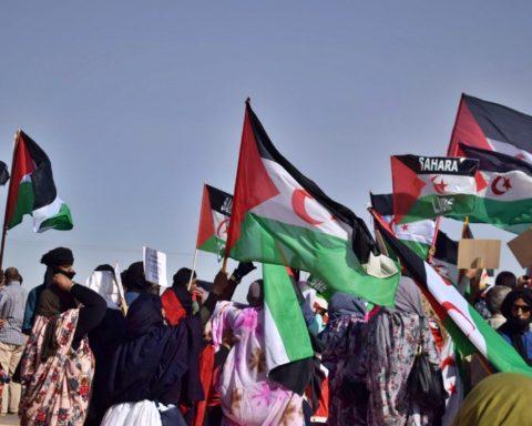 Tindouf, manifestazione del popolo Saharawi del 26 ottobre 2020